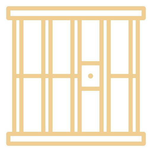 icon of a jail cell